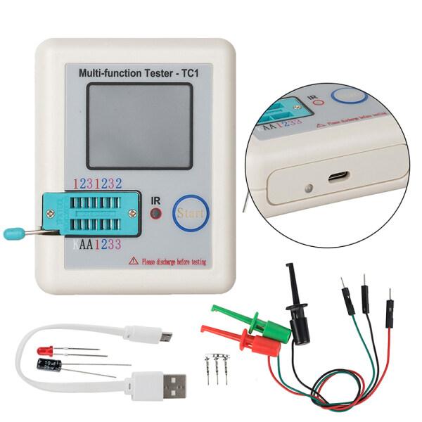 Transistor Tester Hiển Thị Đầy Màu Sắc Bỏ Túi TFT Transistor LCR-TC1 Tester 1.8 Inch