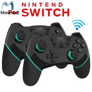 MeterMall Tay Cầm Chơi Game Bluetooth Không Dây, Trò Chơi Cần Điều Khiển Điều Khiển Với Tay Cầm 6 Trục, Tay Cầm Chơi Game Nitendo Switch Pro thumbnail