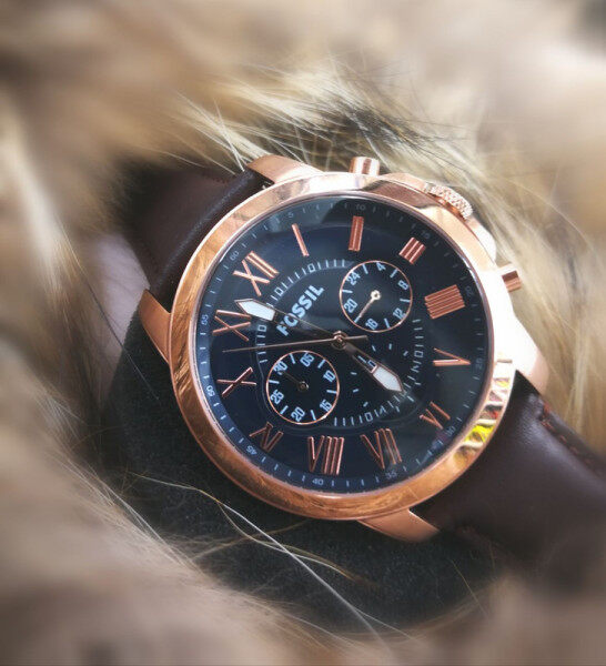 FOSSIL ALL FUNCTION WORKING _ GENEVE MOVEMENT SHOCKING DEAL PROMO PRICE Malaysia