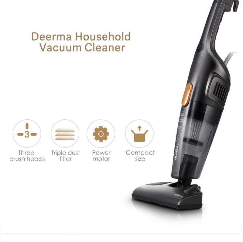 Deerma 2-in-1 Household Vacuum Cleaner Hand-Held and Vertical Small Super Silent Vacuum Cleaner For Hardwood/ Carpet/ Tile Floors / Car/ Bed Vacuum Cleaner Singapore