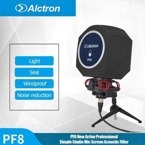 Original Alctron PF8 New Professional Simple Studio Mic Screen Acoustic Filter Desktop Recording Microphone Noise Reduction Wind Malaysia
