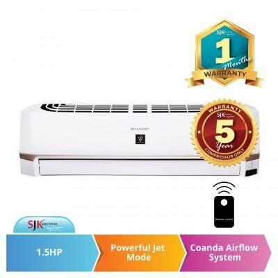 Sharp Air Conditioner AHXP13UHD (1.5 HP) 3 Star Inverter Aircond
