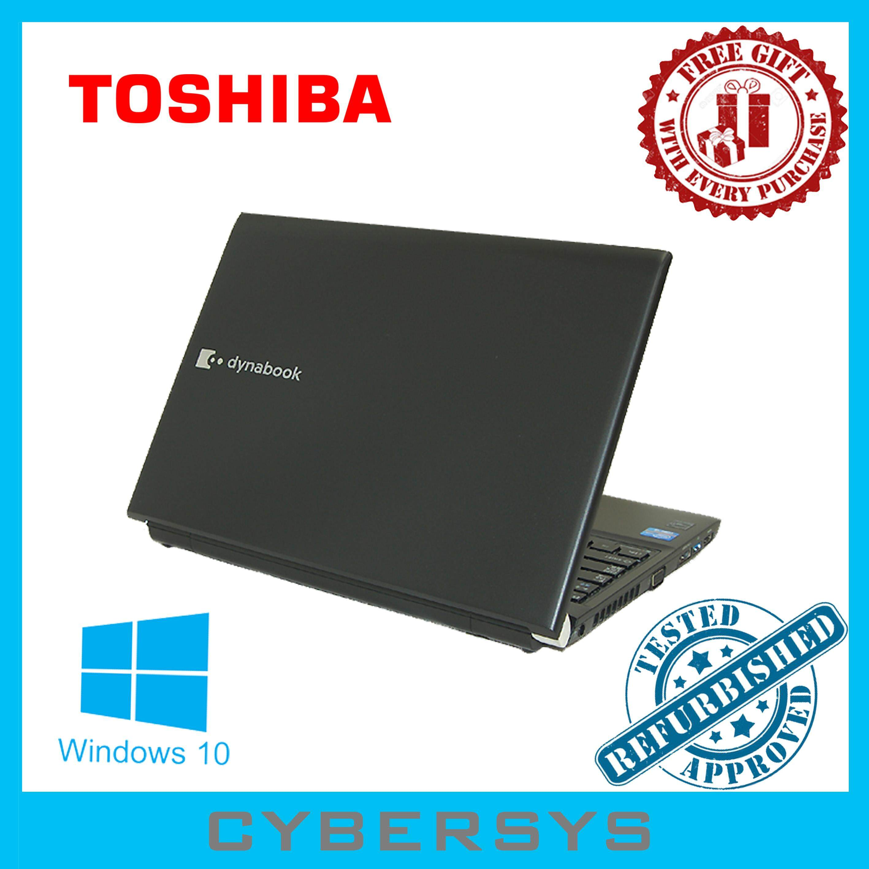 Toshiba Slim Dynabook Intel Core i5 8GB 240GB SSD Laptop Notebook (Refurbished) Malaysia