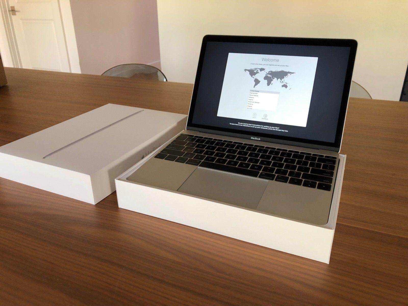 Apple Mac Book 12 (2015, Silver) 1.1GHZ / 8GB RAM / 256GB SSD + BOX Malaysia