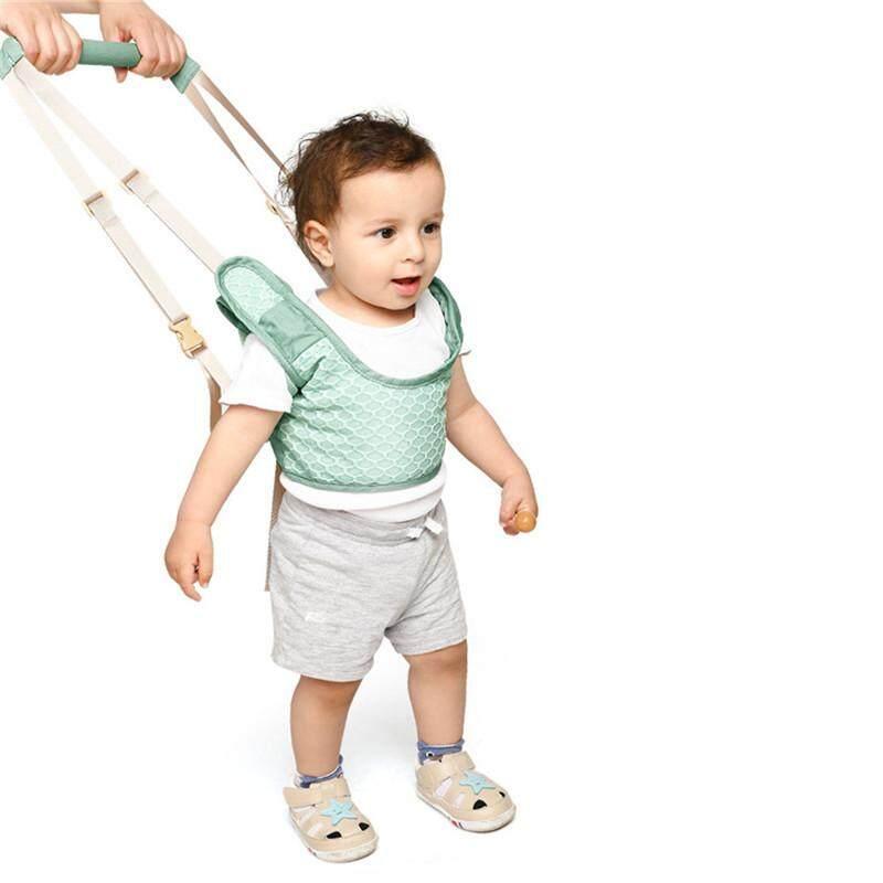 Handheld Baby Walking Harness for Kids Adjustable Toddler Walking Assistant with Detachable Safe Standing & Walk Learning Helper