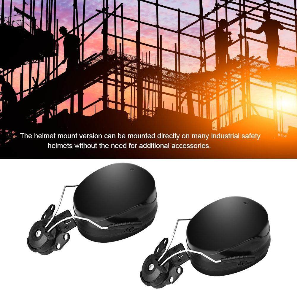 Hard Hat Earmuffs Noise Reduction Soundproof Earmuff Attachment Earing Protection