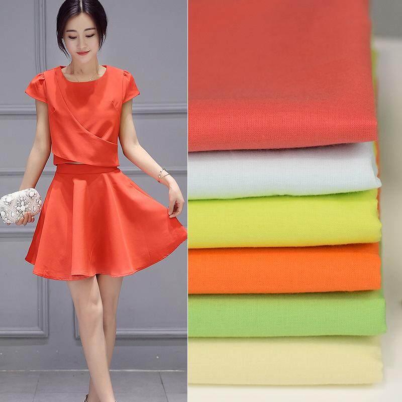 Tempat Rayon Cotton Combed 60*60 S Kain Pual Katun 112 Warna Dress Atasan Kain Rayon