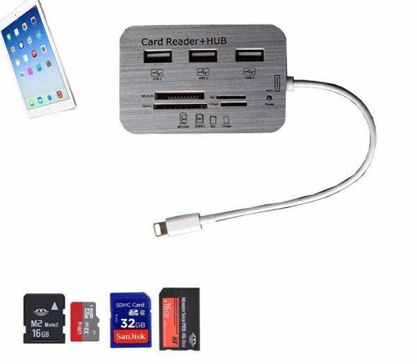New For Ipad4/Ipad Mini/ Ipad 5 / Ipad Mini 2 Usb Hub Camera Connection Kit Sd/Tf Card Reader Adapter Ios 12