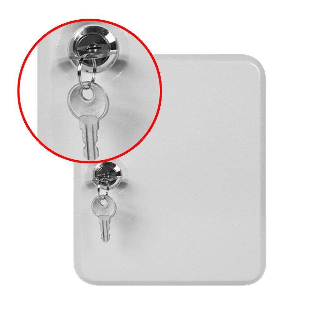 XIN 20 Tags Fobs Wall Mounted Lockable Security Metal Key Cabinet Box Storage Case - intl