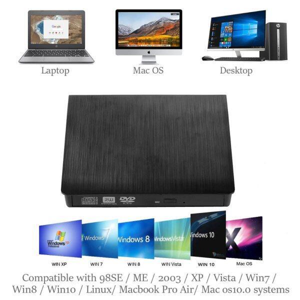 Bảng giá Đầu Đọc USB 3.0 Gắn Ngoài CD/DVD ROM Ổ Đĩa Quang Đầu Đọc Ghi DVD RW Máy Ghi Âm Cho Jumper , Thinker ThinkPad Alienware Phong Vũ