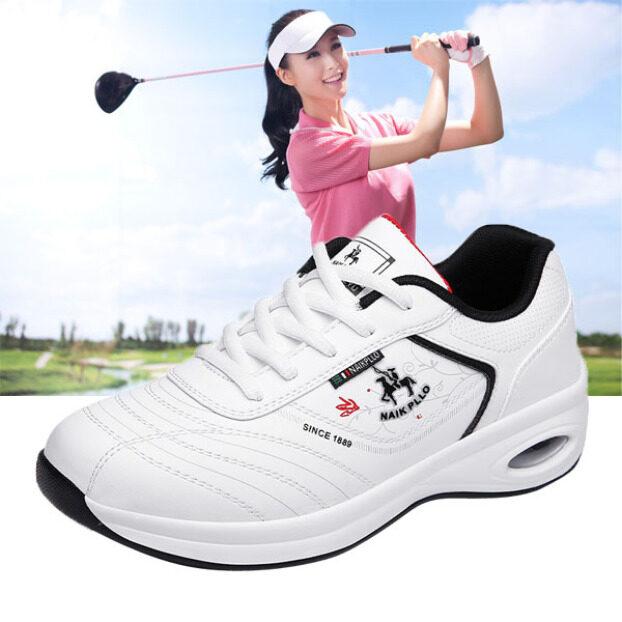 New Golf Giày Giày Chơi Golf Chuyên Nghiệp Khóa Học Không Thấm Nước Giày Thể Thao Đi Bộ Thể Thao Không Đinh Cho Phụ Nữ Giảng Viên giá rẻ