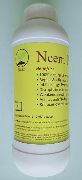 Neem Pro oil large 1 litre very concentrated for 1.2 acres plants coverage. Natural pesticide