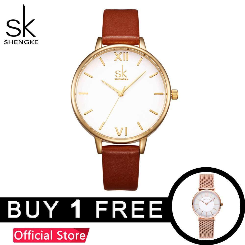 794b0f0a8 ShengKe Business Watch for Women Casual Quartz Wrist Watches Waterproof  Fashion Lady Watches Rose Gold Jam