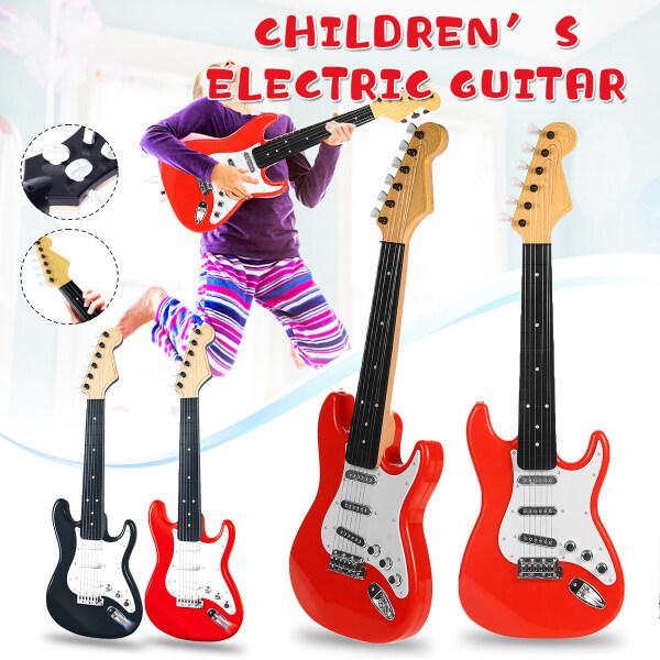 Trẻ Em Âm Nhạc 6 Dây Trẻ Em Mô Phỏng Guitar Điện Đồ Chơi Xmas Quà Tặng-Đỏ