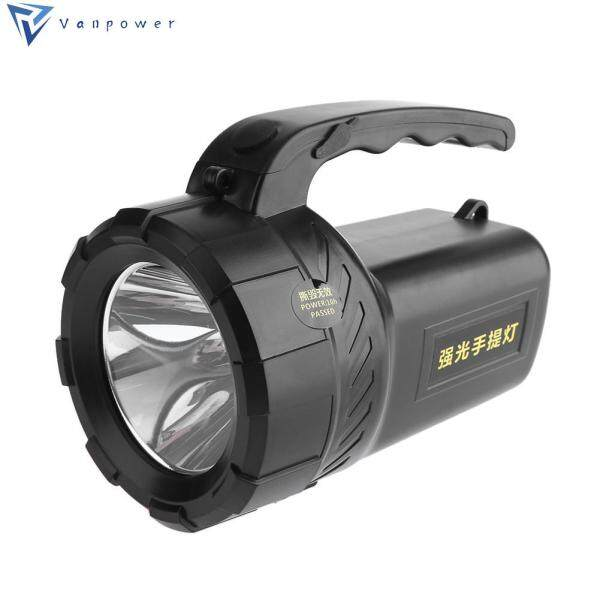 Rechargeable Flashlight Led Spotlight Searching Lamp Torch Emergency Light