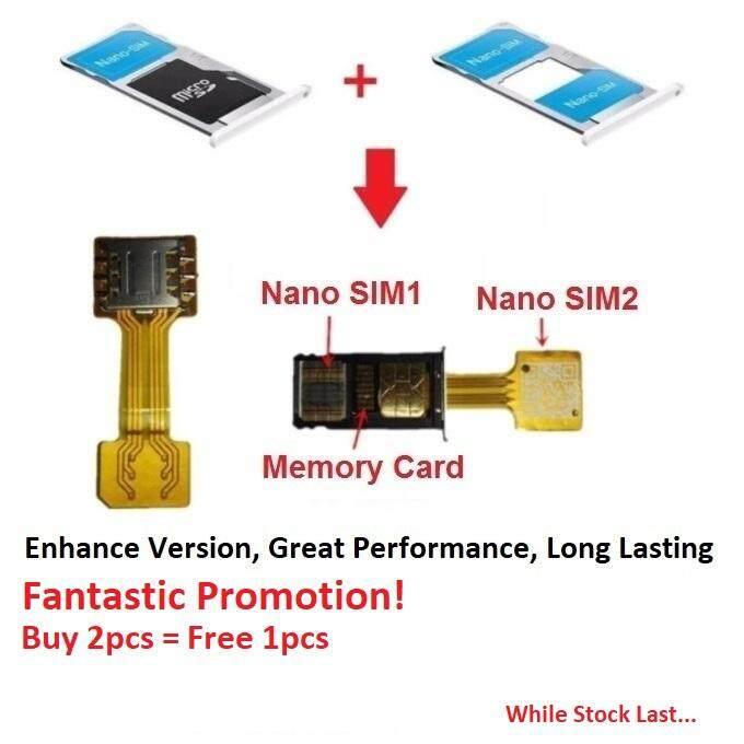 Nano Sim Card Extender (2019 Enhanced Version). Hybrid Nano Sim Card Slot Extender Adapter (1pcs Pack) By It House.