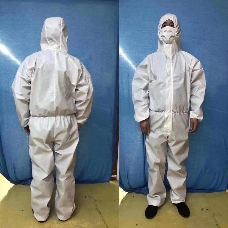 SpotDisposable Surgical Gowns Medical Protection Suit Protective Clothing Antibacterial Chemical Dust-proof Water-proof Woven Overal