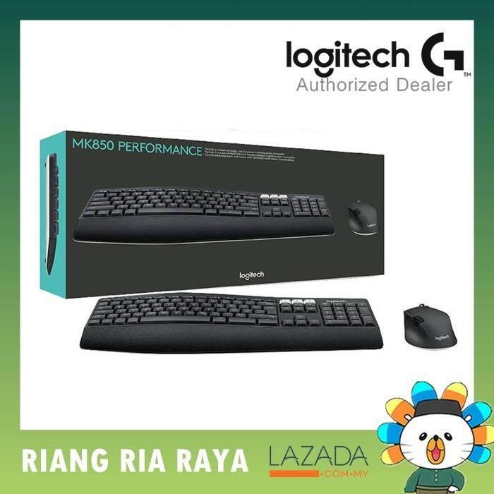 Logitech MK850 Performance Wireless Keyboard and Mouse Malaysia