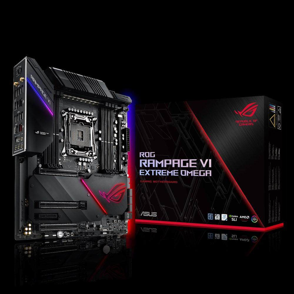d9f549a06 ASUS RAMPAGE VI EXTREME OMEGA SOCKET 2066 MAINBOARD