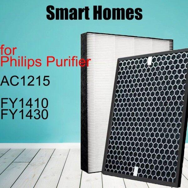 Bộ Lọc HEPA Phù Hợp Với Philips NanoProtect FY1410, Bộ Lọc Than Hoạt Tính FY1413, Dành Cho Dòng Máy Lọc Không Khí 1000 AC1215 AC1213 AC1212 AC1216