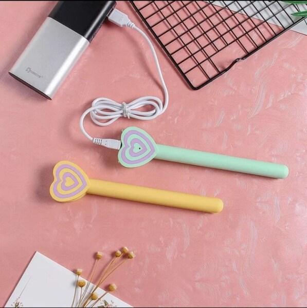 Mini USB Nhỏ Nẹp Không Dây Máy Uốn Tóc Thẳng CuộN Di Động Nhỏ Uốn Tóc Hai Mục Đích Không Tổn Thương Tóc Khóa duỗi Tóc Dụng Cụ