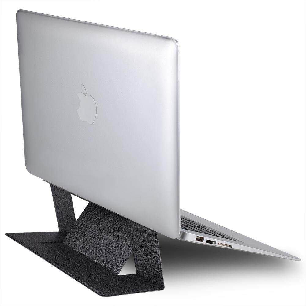 AFesar For Invisible Laptop Stand, Portable Adjustable Foldable Laptop Stand, Slim Lightweight Adhesive Laptop Stand, Ergonomic Lap Tray For Laptop, IPad, Tablet, And More, Fits Up To 15.6'' Laptop