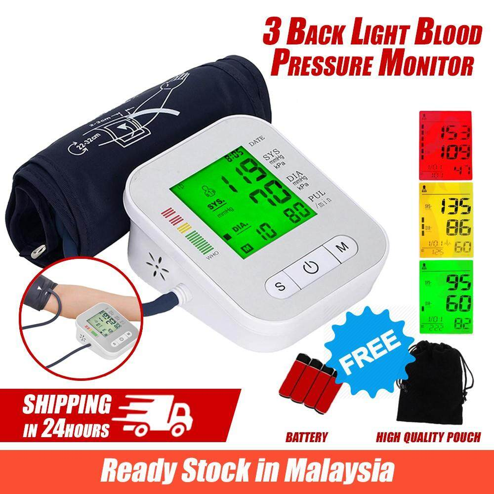 Smart 3 Backlite Arm Blood Pressure Monitor Tekanan Darah By Innovation.