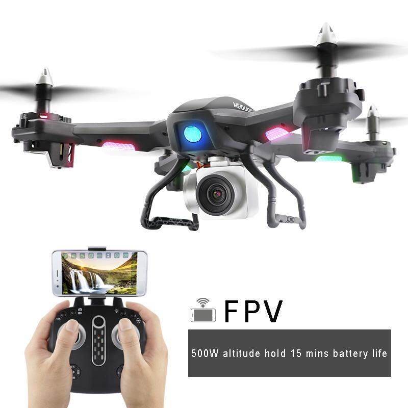 ถ่ายภาพโดรนไวไฟอัตโนมัติติดตามรีโมทคอนโทรลเครื่องบิน Drop - Resistant Quadcopter เครื่องบินของเล่น By Haoyisheng Store.