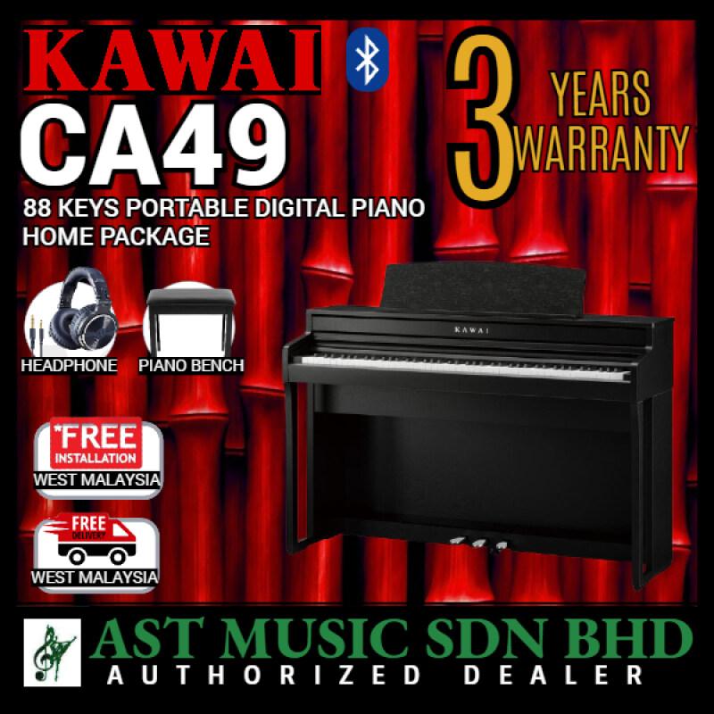 Kawai CA49 88-key Digital Piano - Satin Black (CA-49 / CA 49) Malaysia