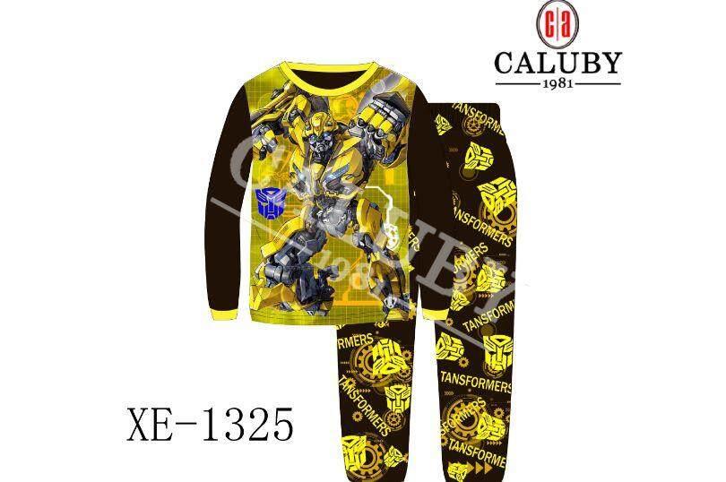 [s&s] Caluby Sleepwear Pyjamas/pajamas - Transformer By Sun & Stars Kids Wear.