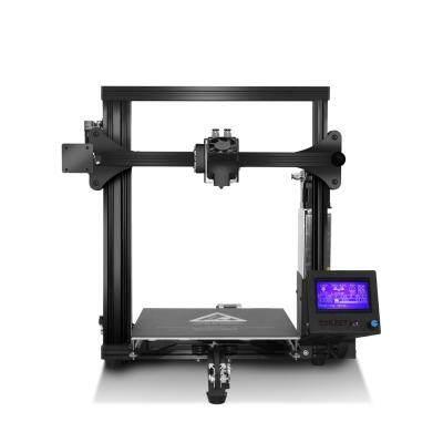 ZONESTAR Z5FM Dual Extruder Auto Mix-Color Quickly Assemble 3D Printer (JET BLACK)