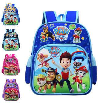 กระเป๋านักเรียนประถม เด็กกระเป๋าเป้สะพายหลังเด็กหญิงไนลอนกระเป๋าลายการ์ตูนน่ารัก