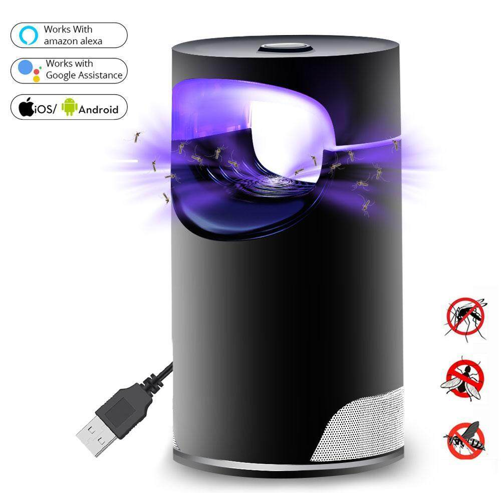 leegoal LED UV Electric Mosquito Killer Lamp - Smart WiFi and Voice Control USB Charge Noiseless