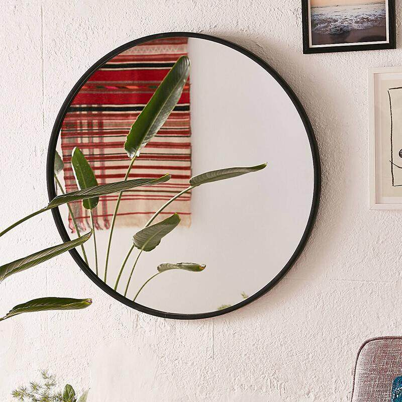Bathroom Mirror Makeup Mirror Wall Hanging Mirror Entrance Mirror 40/50/60/70 Cm By Olive Al Home By Olive Al Home.