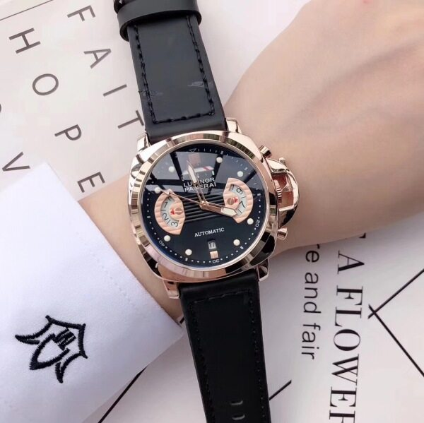 2020 New Original NO.1Panerai Men Watch Classic Simple Fashion Leather Band Round Wrist Watch for Men Malaysia