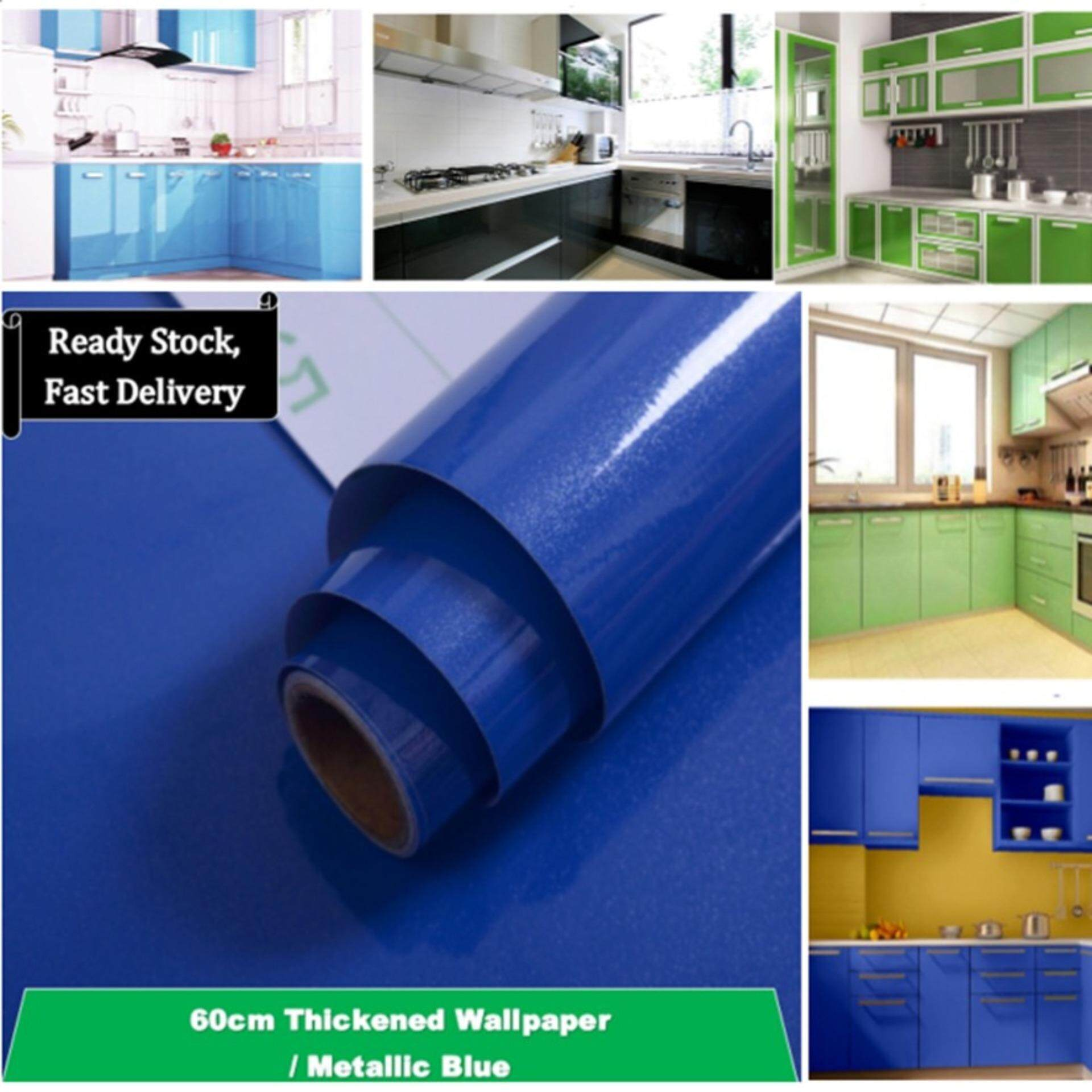 5 Colors DIY Furniture Cupboard Wallpaper (Self-Adhesive, Oil Resistant, Waterproof,