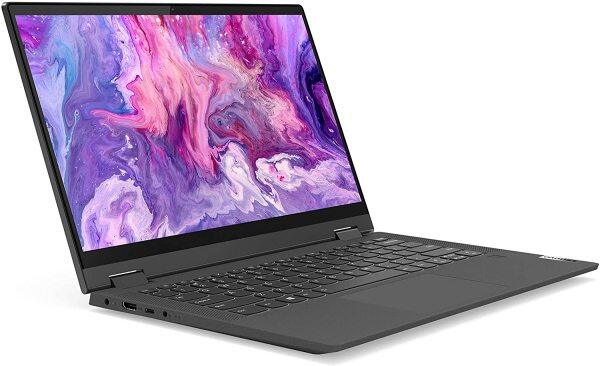 Lenovo Flex 5 14 2-in-1 Laptop, 14.0 FHD (1920 x 1080) Touch Display, AMD Ryzen 5 4500U Processor, 16GB DDR4, 256GB SSD, AMD Radeon Graphics, Digital Pen Included, Win 10, 81X20005US, Graphite Grey Malaysia