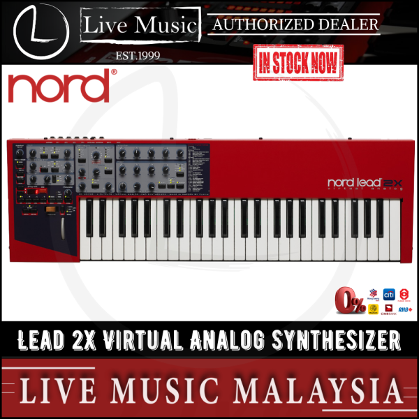 Nord Lead 2X Virtual Analog Synthesizer Malaysia