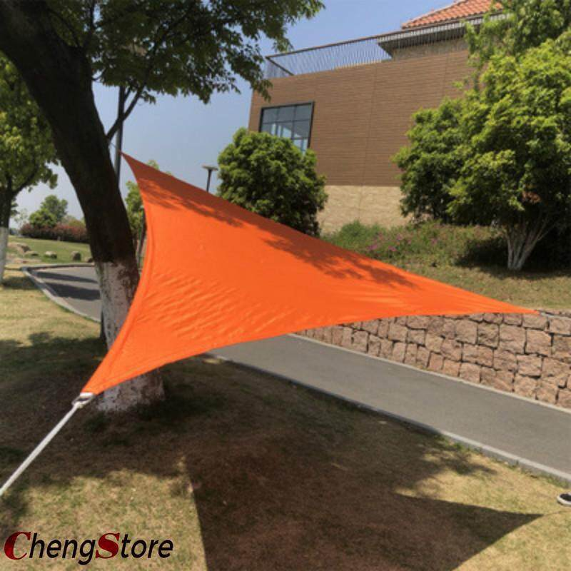 Sun Shade Sail Triangle Canopy - Permeable UV Block Fabric Durable Outdoor 3*3*3M