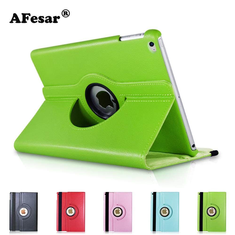 360 Degree Rotating Stand Smart Cover New iPad 6th 9.7 2018 2017 iPad Air Case