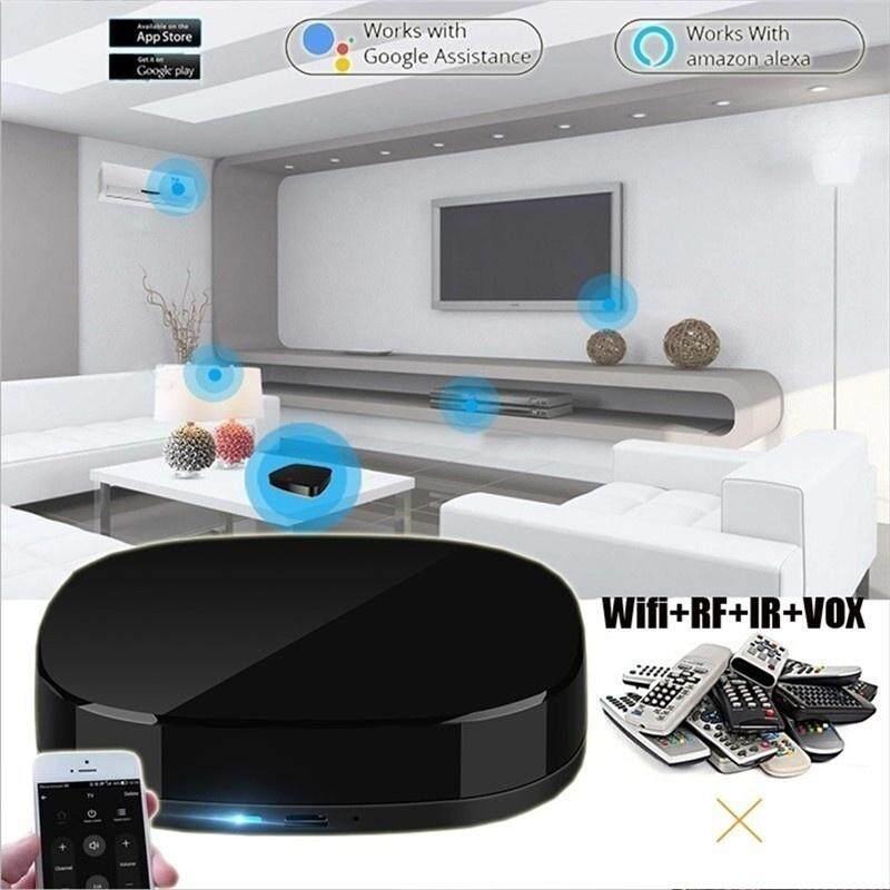 2019 HOT Nhà Thông Minh Wifi + IR + RF + VOX Thông Minh Điều Khiển từ xa Công Tắc HỒNG NGOẠI Điều Khiển Các Thiết Bị Tự Động Hóa wifi Thoại Điện Thoại 3in1 Điều Khiển cho Alexa Google Trợ Lý