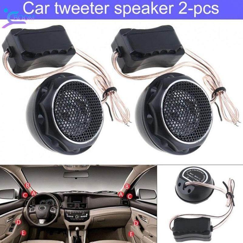 BOOM Audio Speaker Car Tweeter Auto Speakers Durable Mini 2 Pcs Stereo High  Efficiency Loudspeaker