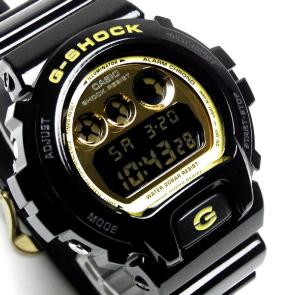 Casio_Gshock_Dw6900 Black Gold Watch For Men Malaysia