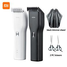 Enchen Tông Đơ Cắt Tóc Chạy Điện Tông Đơ Sạc Nhanh USB Bằng Gốm cho tóc nam