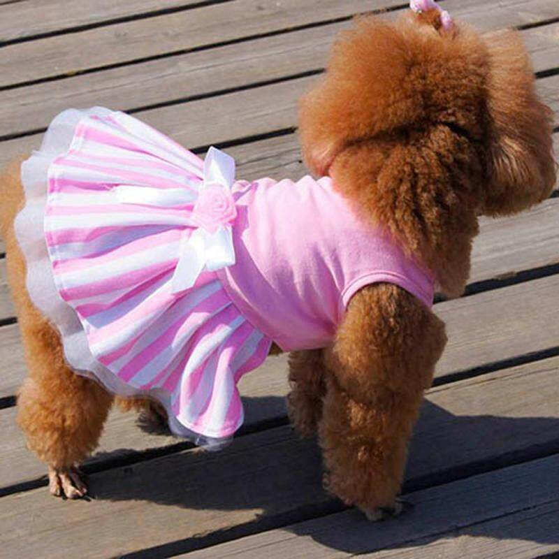 Kitteoy Chó Mèo Nơ Tutu Váy Đầm Cho Thú Cưng Chó Con Bộ Trang Phục Công Chúa May Mặc Quần Áo