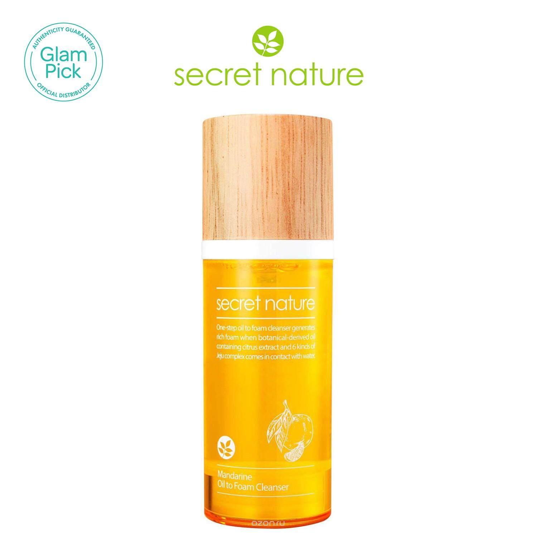 secret nature Mandarine Oil to Foam Cleanser 100ml