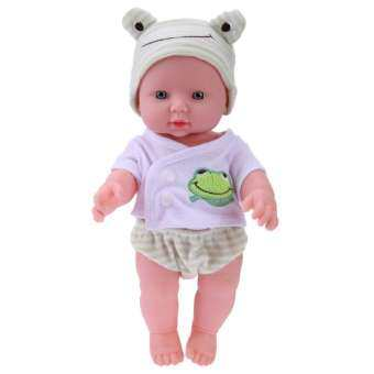 30 เซนติเมตรทารกแรกเกิดตุ๊กตาจำลองนุ่มตุ๊กตาเด็กของขวัญวันเกิดของเล่น-