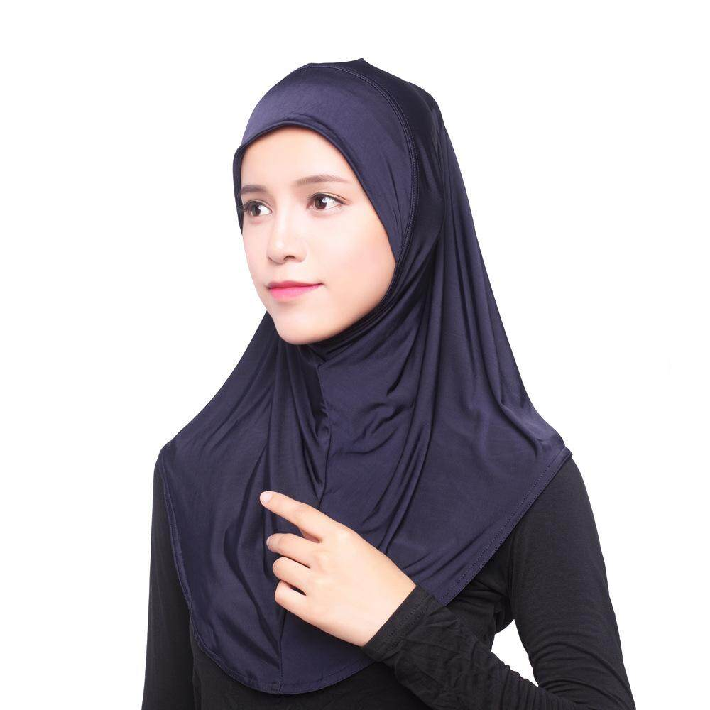 Supermall Muslim Islamic Jersey Turban Women Kerchief By Super Star Mall.