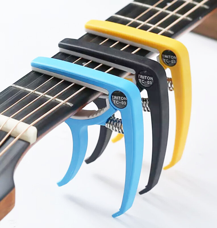 Triton High Grade ABS Guitar Capo. for Acoustic. Electric . Classical and Ukulele Malaysia