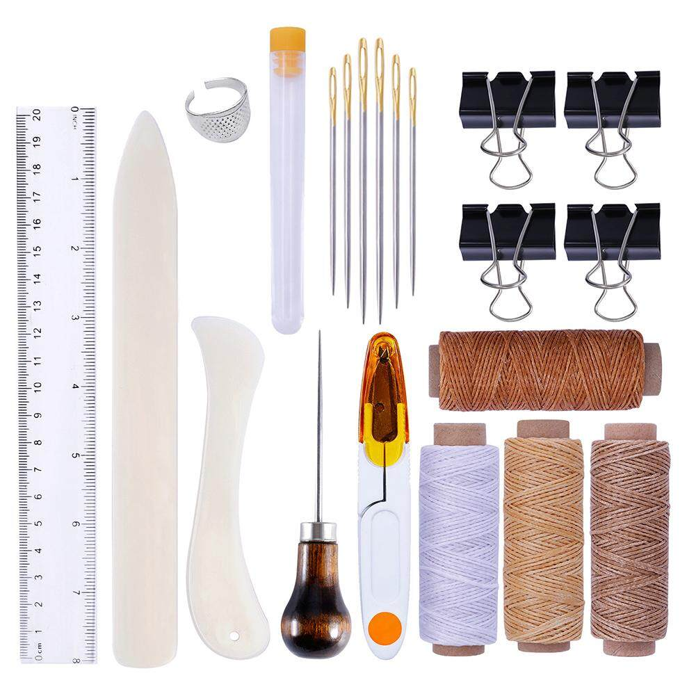 Needles Ruler Safety Bookbinding Easy Use Home Durable DIY Sewing Kit